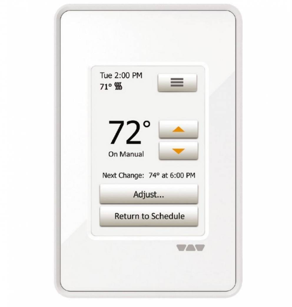Ditra Heat E Rt Programmable Touchscreen Thermostat